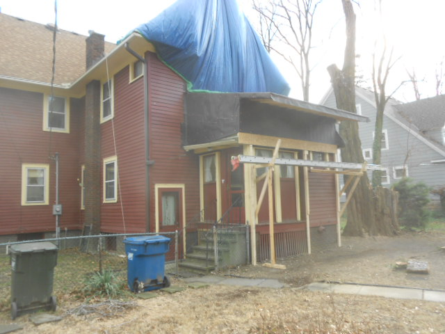 2013 second floor sunroom rebuild hickok home for Second floor sunroom